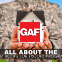 All about the GAF Roofs for Troops Program