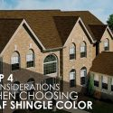 Top 4 Considerations When Choosing GAF Shingle Color